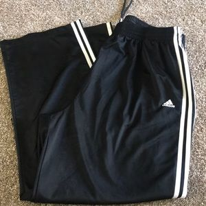 Suede pants Adidas 2x